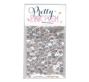 4 mm Sparkling Clear Sequins
