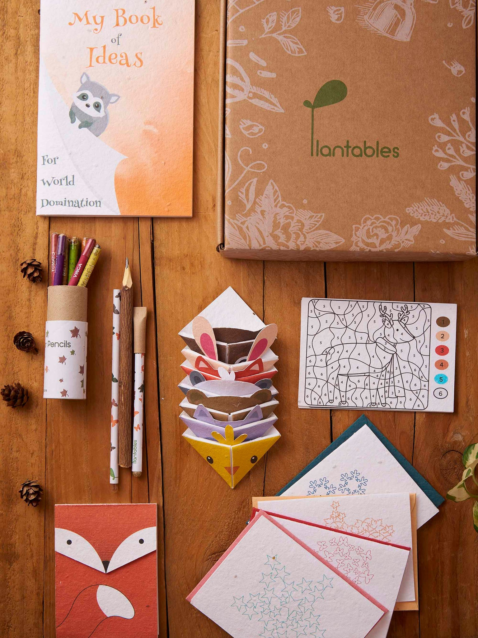 Plantables Junior Stationery Kit