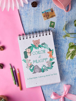 Plantables Kids Coloring Book