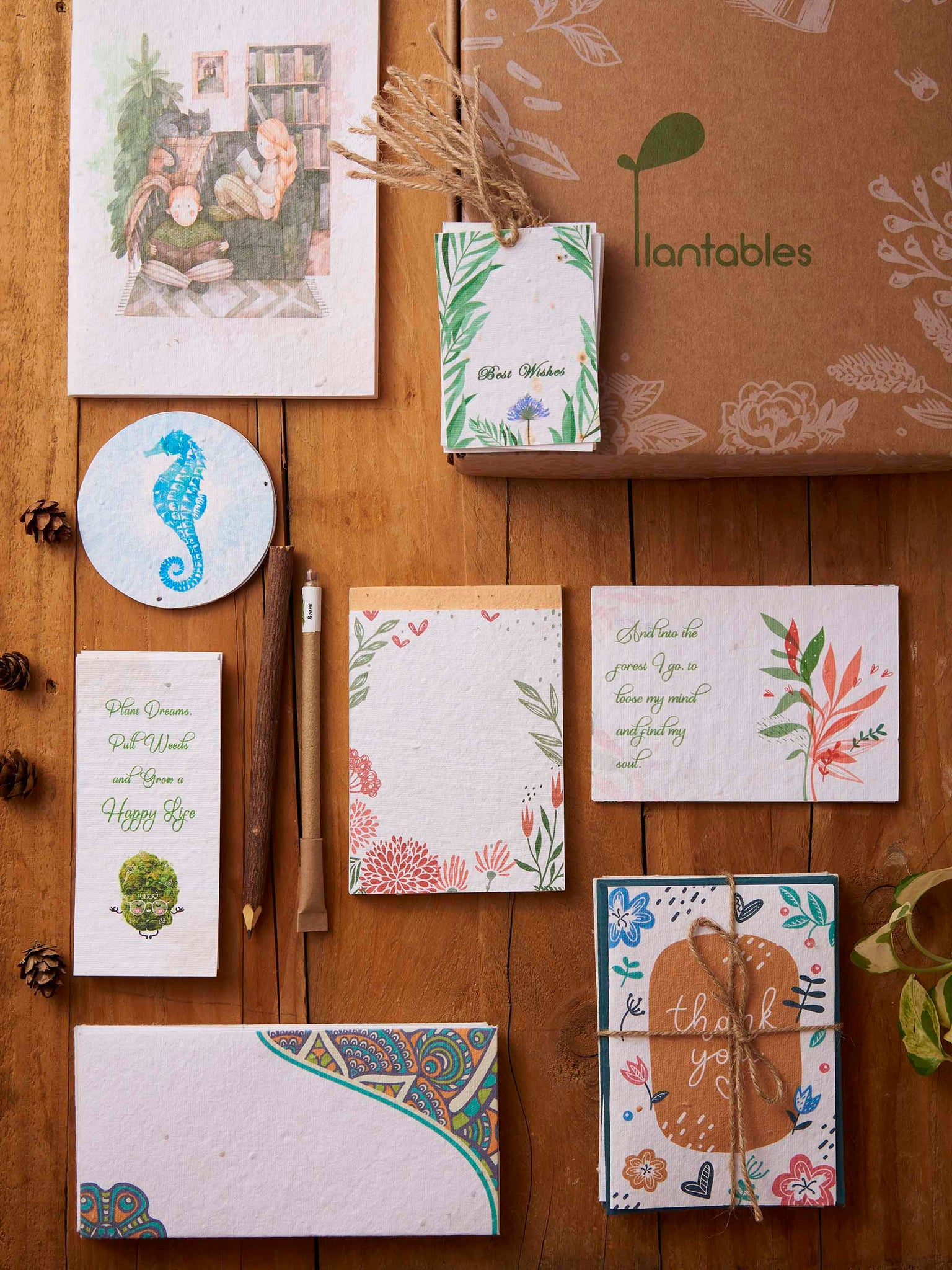 Plantables Stationery Kit