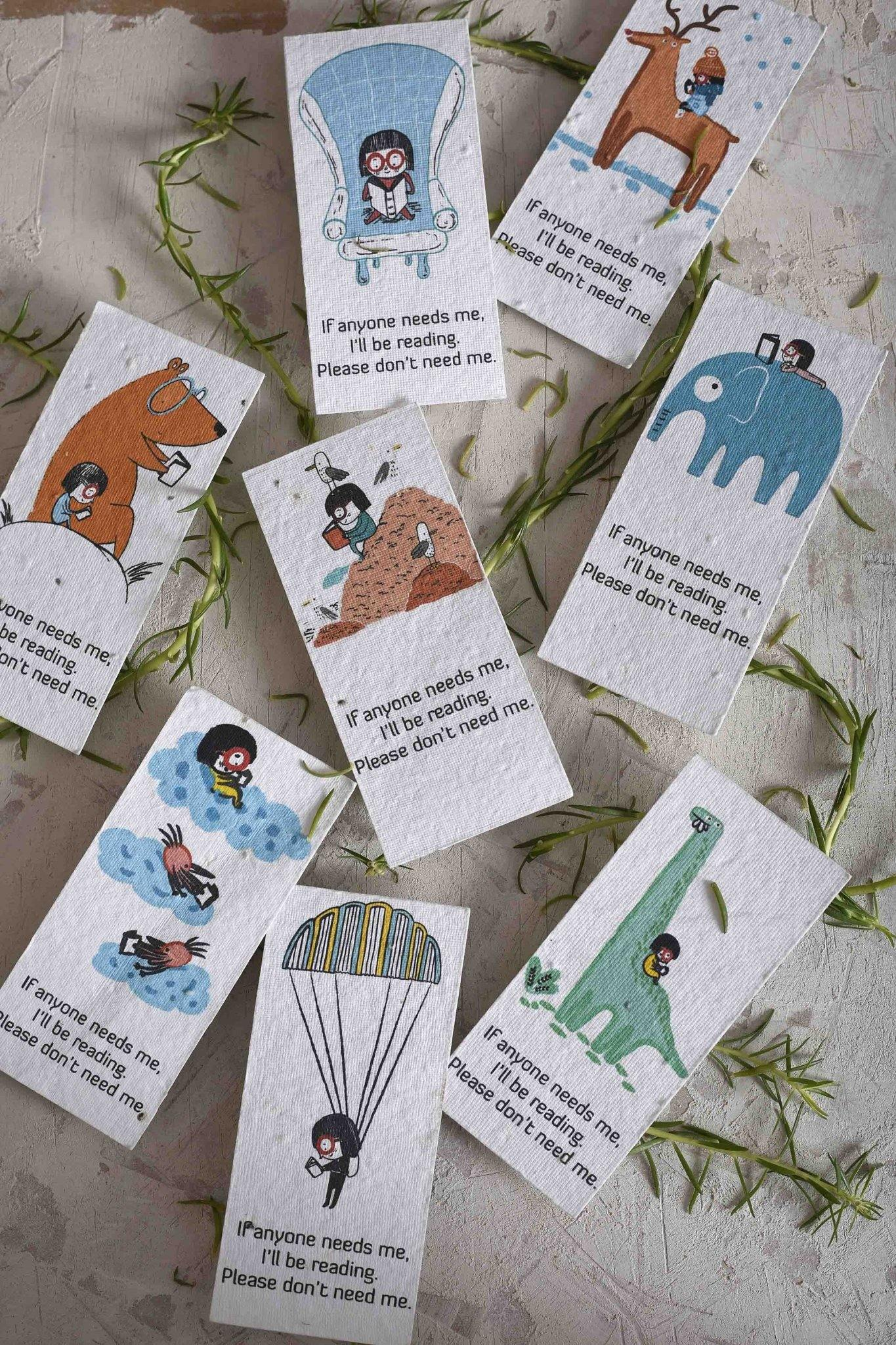 Lil' Seedie's Bookmark Series (Set of 8) - Plantables