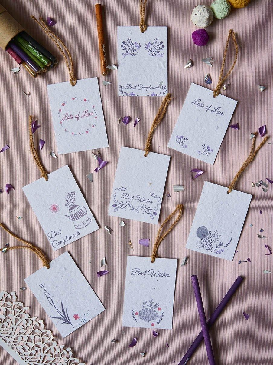 Lilac Love Gift Tags (Set of 8) - Plantables