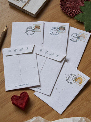 Love In The Time Of Corona Envelopes (Set of 6) - Plantables