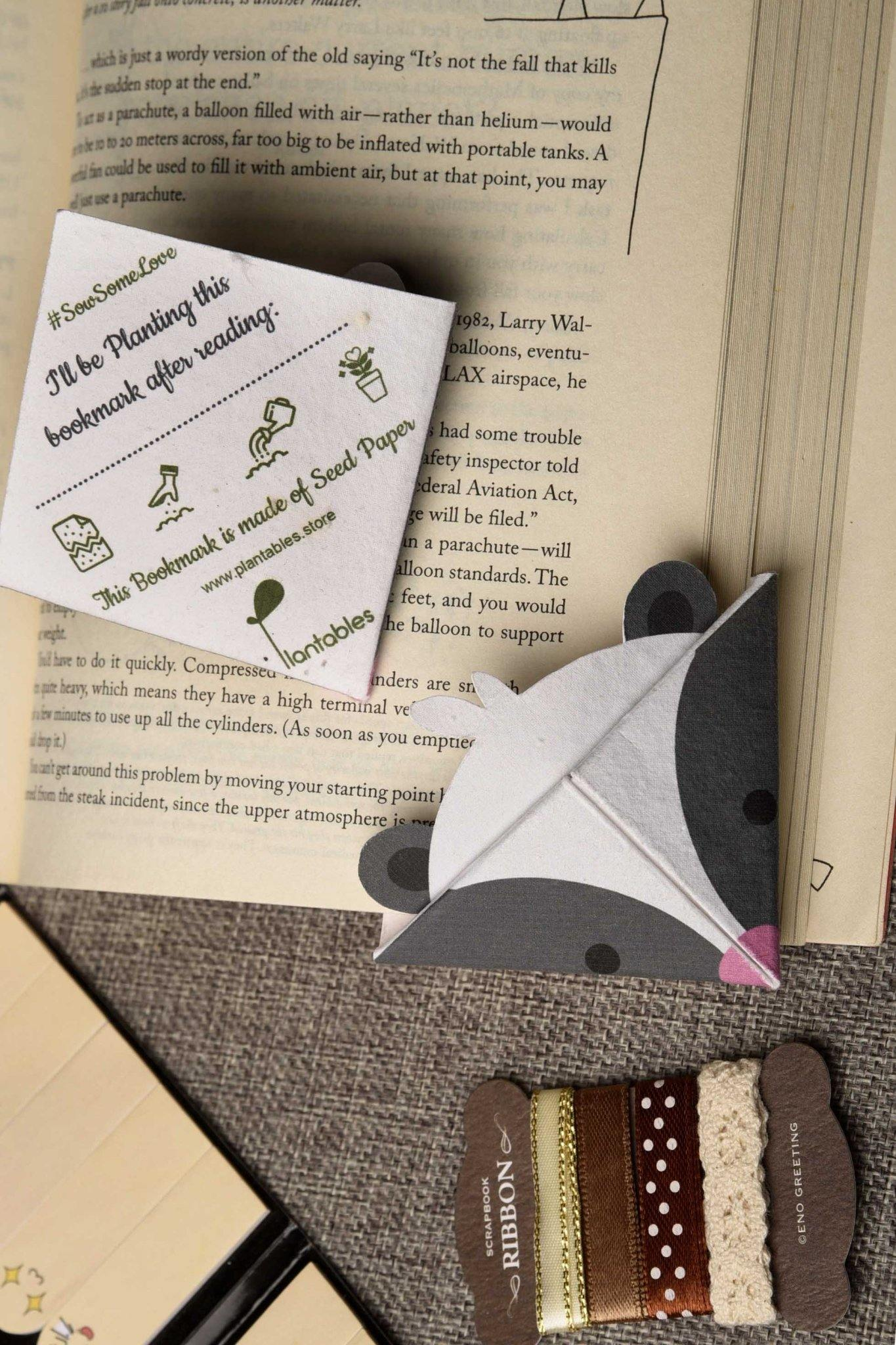 Origami Corner Bookmarks (Set of 7) - Plantables