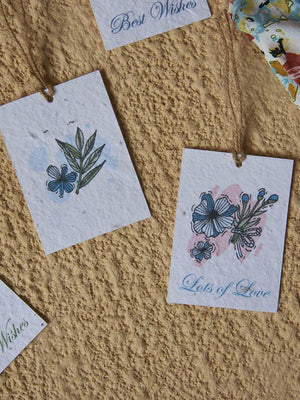Pastel Notes Gift Tags (Set of 8) - Plantables