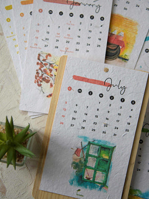 Seasons Calendar 2021 - Plantables
