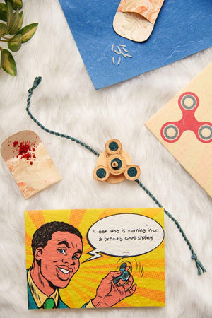 The Fidgety Sib Rakhi Kit - Plantables