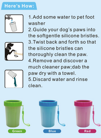 50 Off Portable Pet Feet Washer Dog Paw Cleaner Cat Paws Cleaner