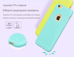 for iPhone Phone x 10 Original Soft Silicone Bag Cute Candy Anti-Fake Rubber Cover