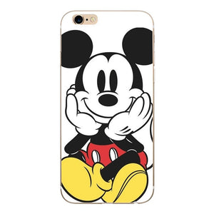 Case For iphone 5s 5 s se Case Cover Mickey Minnie Silicone Soft Shell Cover For Apple iPhone 6s 6 s 7 8 plus x 10 Bags Funda