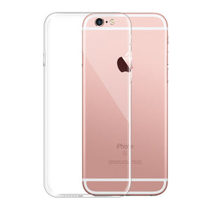 Phone Cases For iPhone 5 6 6s 7 8 X XS max XR Case Soft Transparent Silicone Clear Case Back Cover For iPhone 6 6s 7 8 Plus Case