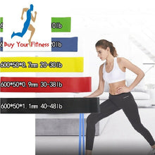 Load image into Gallery viewer, Resistance Bands Rubber Band Workout Fitness Gym Exercise Equipment rubber loop