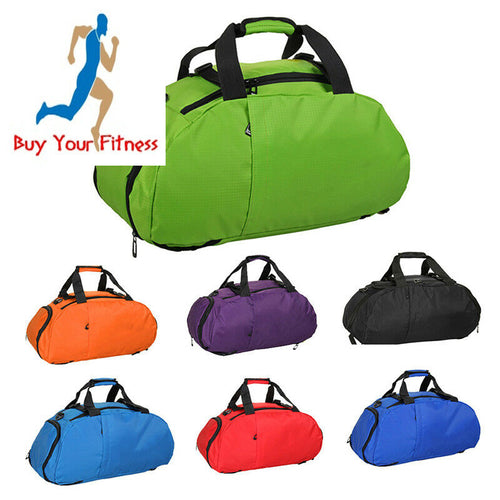 Waterproof Fitness Sports Bag Men Women Workout Fitness Bag Portable Gym Handbag