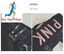 Load image into Gallery viewer, Women Gym Fitness Bag Duffle Bag Travel Size Shoulder Luggage Sport Training