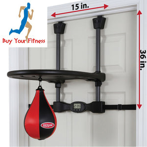 Speed Bag Majik Over The Door Youth Fitness Trainer Punch Bag
