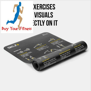 Exercise Fitness Kit Self-Guided with Stability Ball, Resistance Bands By Sklz