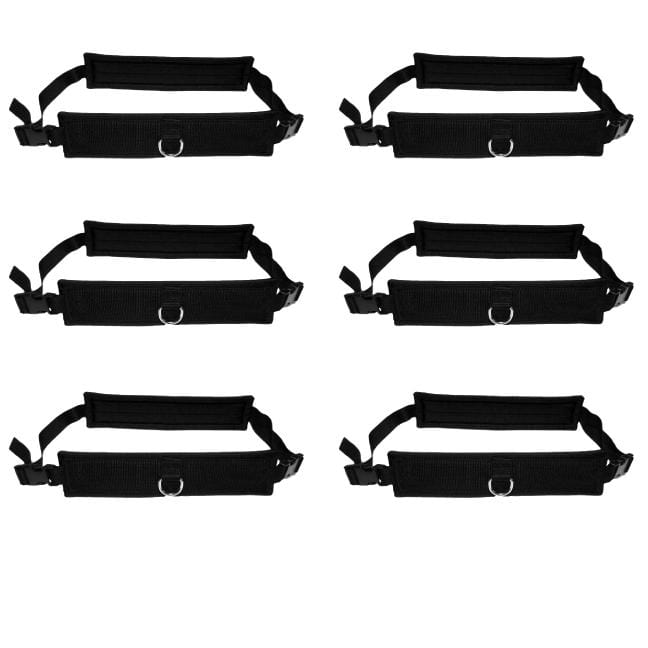 6 Pack Speedster Dual Use Harnesses w/Towlines