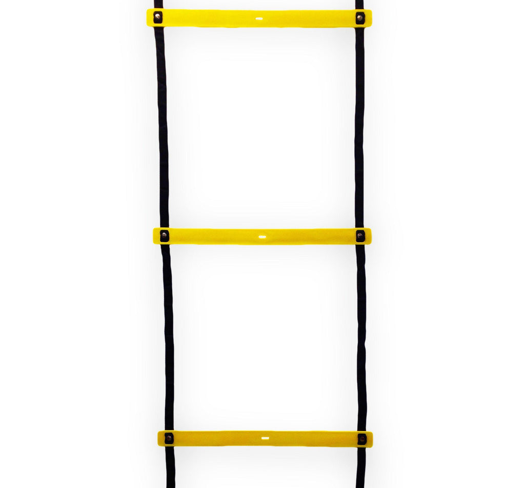 Heavy duty speed and agility ladder for football rugby soccer basketball and any sport. to increase athlete's ability to move fast in any direction for faster response time and direction change