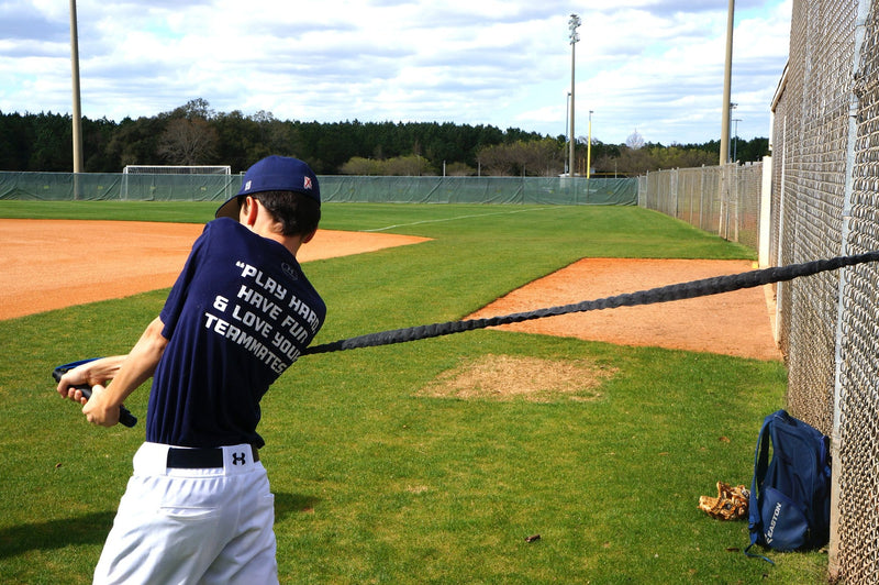 Improve batting average for youth and teen baseball warm up, arm and shoulder resistance bands for baseball batting. Baseball Gear