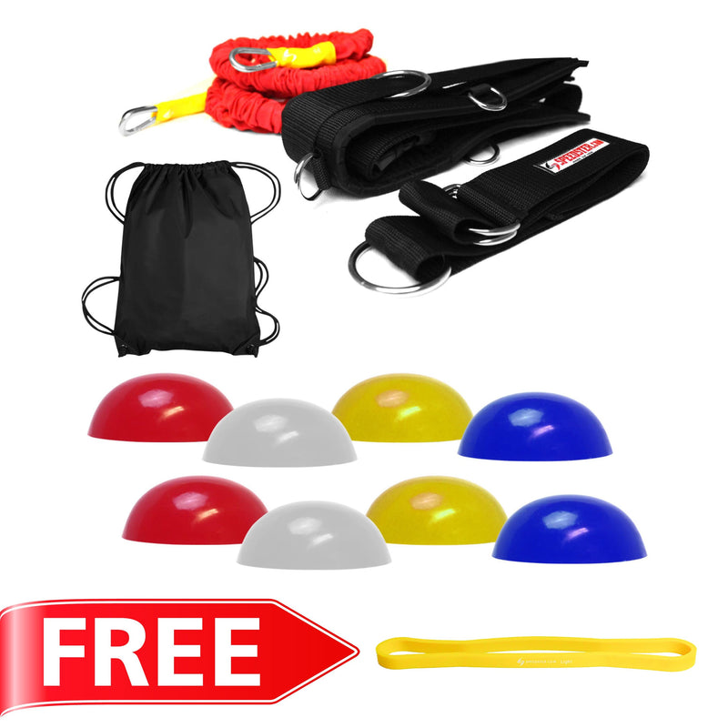 "Pro Agility Speed Trainer with Free 12"" Loop"