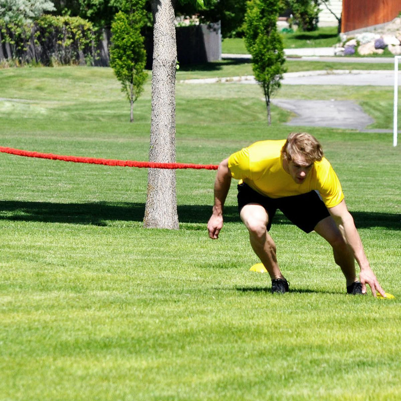 The best agility trainer is resistance. Use speedster rocket bungees  for a safe and effective way to train your athletes faster and more efficiently for improved agility and response time no matter the sport. Great for Football, baseball, basketball, softball, volleyball, track, rugby and lacrosse