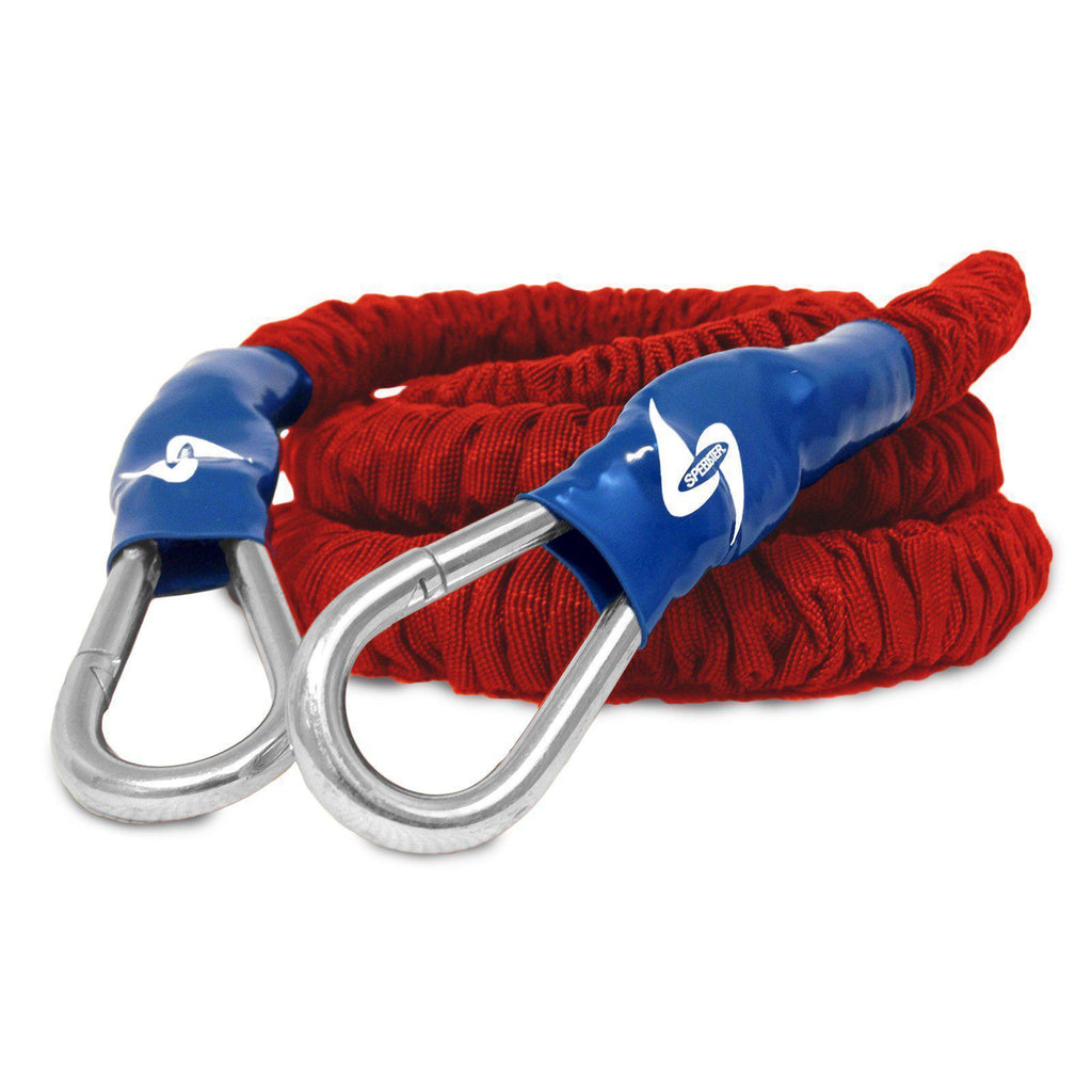 Athletic trainer resistance bungee cords for coaches, organizations and trainers use these to increase speed in all sports great for speed and overspeed.