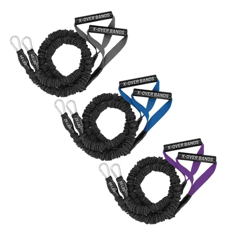 X-Over Resistance Bands - 3 Pack