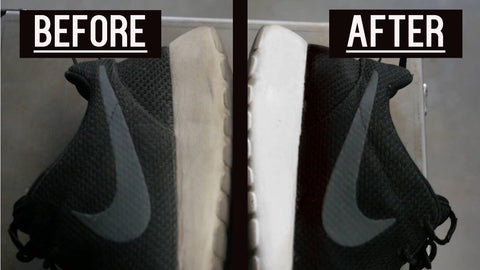 How To Clean White Soles On My Sneakers