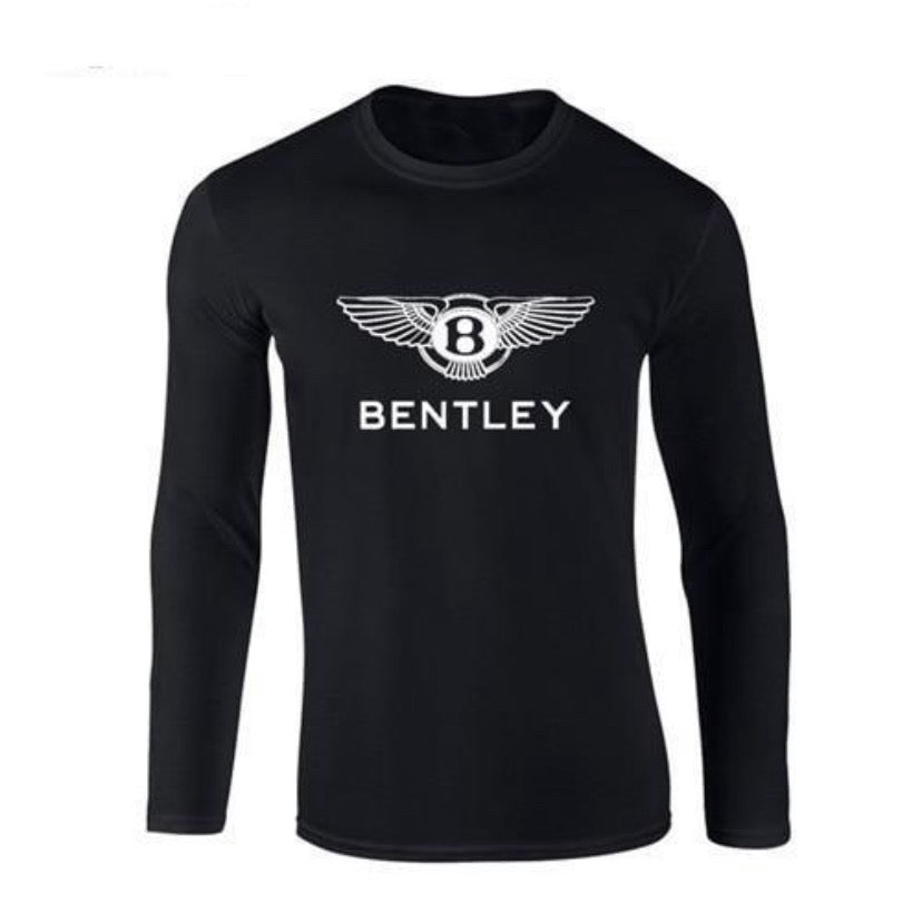 Bentley L/S Tee - Black Crown Fashion