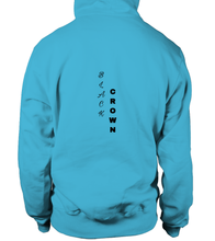 Load image into Gallery viewer, Primary Colors Bubble Crown Signature Hoodie - Black Crown Fashion
