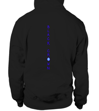 Load image into Gallery viewer, Wavy Wizard Black Crown Signature Hoodie - Black Crown Fashion