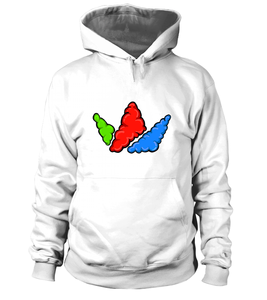 Primary Colors Bubble Crown Signature Hoodie