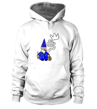 Load image into Gallery viewer, Wavy Wizard Black Crown Signature Hoodie