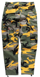 Tuff Camo Cargo Pants (8 Colors) - Black Crown Fashion