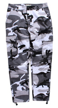 Load image into Gallery viewer, Tuff Camo Cargo Pants (8 Colors) - Black Crown Fashion