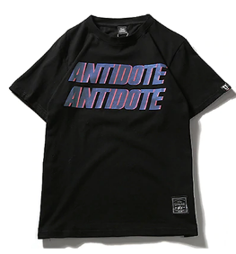 Antidote T-Shirt - Black Crown Fashion