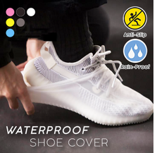 Load image into Gallery viewer, Waterproof Shoe Cover - Black Crown Fashion