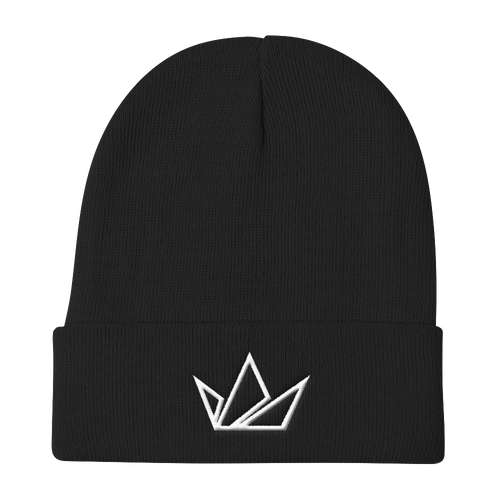 Black Crown Signature Beanie - Black Crown Fashion