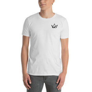 Two People Black Crown Signature Tee - Black Crown Fashion