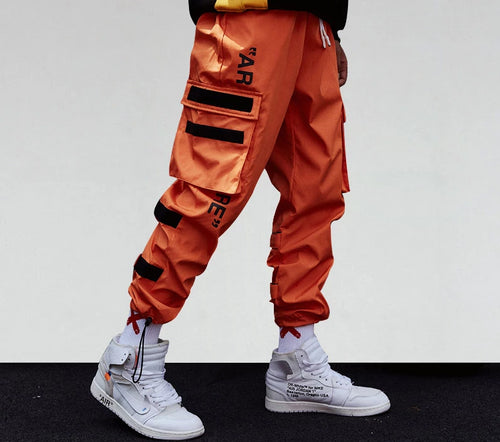 AR Cargo pants - Black Crown Fashion