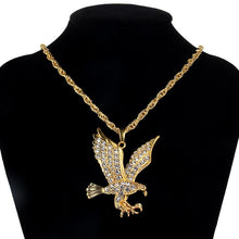 Load image into Gallery viewer, Iced Out Eagle Chain - Black Crown Fashion