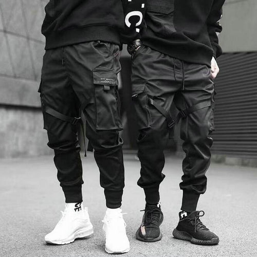 Vantablack Cargo Pants - Black Crown Fashion
