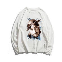 Load image into Gallery viewer, Tupac L/S Shirt Collection - Black Crown Fashion