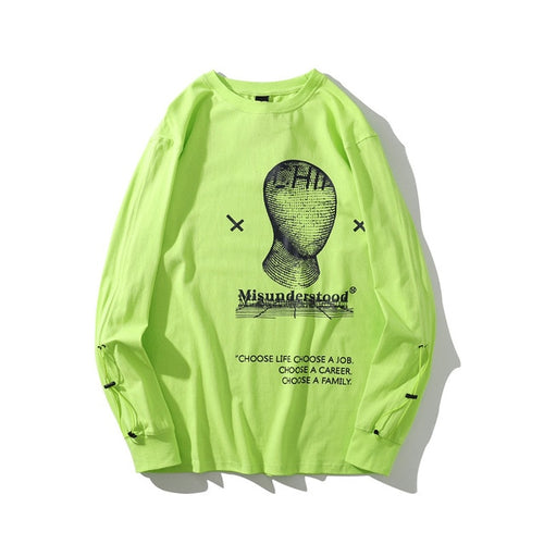 Faceless Misunderstood L/S Tee