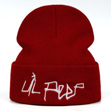 Load image into Gallery viewer, Lil Peep Beamer Boy Embroidered Beanie - Black Crown Fashion