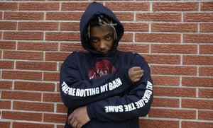 "Juice Wrld ""All Girls Are The Same"" Hoodie - Black Crown Fashion"
