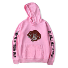 "Load image into Gallery viewer, Juice Wrld ""All Girls Are The Same"" Hoodie - Black Crown Fashion"