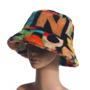 Soft ABC Bucket Hat - Black Crown Fashion