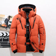 Load image into Gallery viewer, Mountain Top White Duck Puffer Jacket - Black Crown Fashion