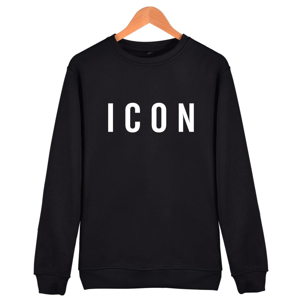 ICON Crewneck - Black Crown Fashion